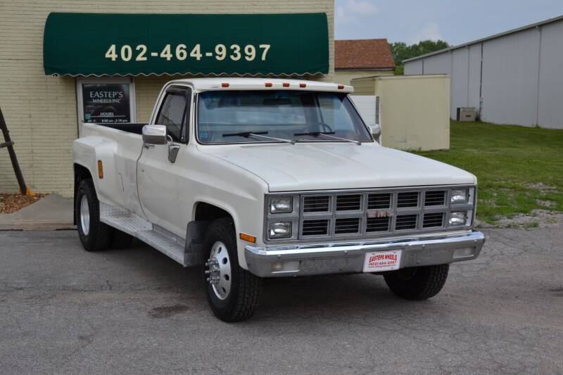 1982 GMC C/K 3500 Series for sale at Eastep's Wheels in Lincoln NE