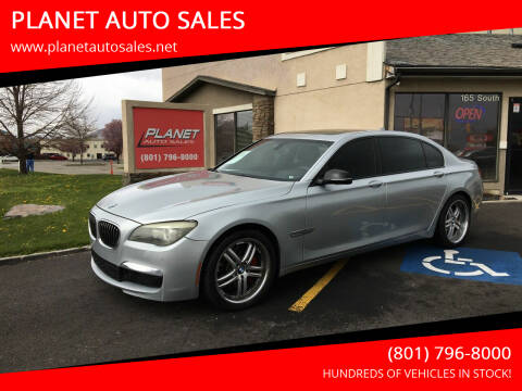 2014 BMW 7 Series for sale at PLANET AUTO SALES in Lindon UT