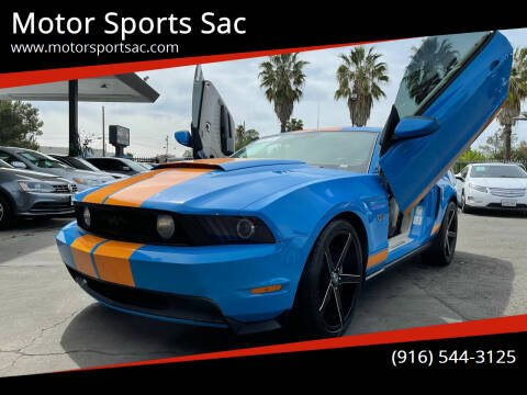 2010 Ford Mustang for sale at Motor Sports Sac in Sacramento CA