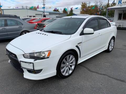 2008 Mitsubishi Lancer for sale at RABI AUTO SALES LLC in Garden City ID