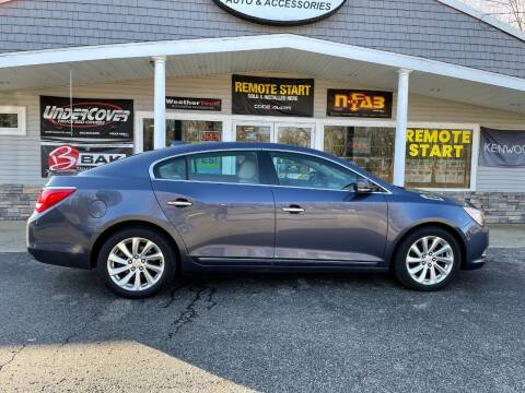 2015 Buick LaCrosse for sale at Stans Auto Sales in Wayland MI