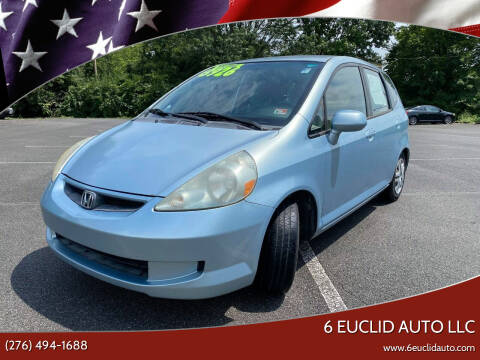 2007 Honda Fit for sale at 6 Euclid Auto LLC in Bristol VA