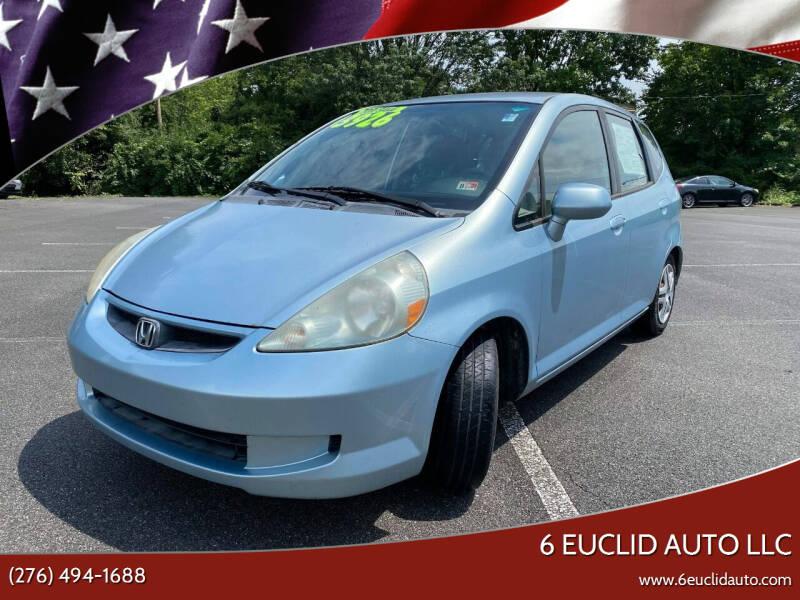 2007 Honda Fit for sale at 6 Euclid Auto LLC in Bristol VA