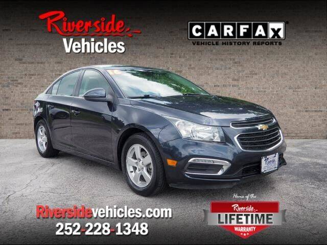 2016 Chevrolet Cruze Limited for sale at Riverside Mitsubishi(New Bern Auto Mart) in New Bern NC