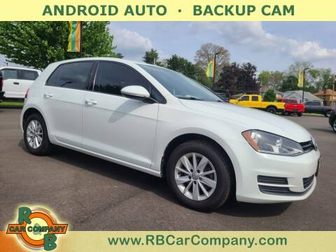 2016 Volkswagen Golf for sale at R & B Car Co in Warsaw IN