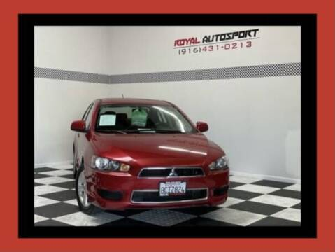2014 Mitsubishi Lancer for sale at Royal AutoSport in Sacramento CA