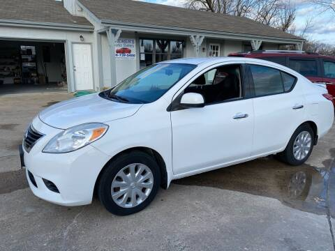 2014 Nissan Versa for sale at Brewer's Auto Sales in Greenwood MO