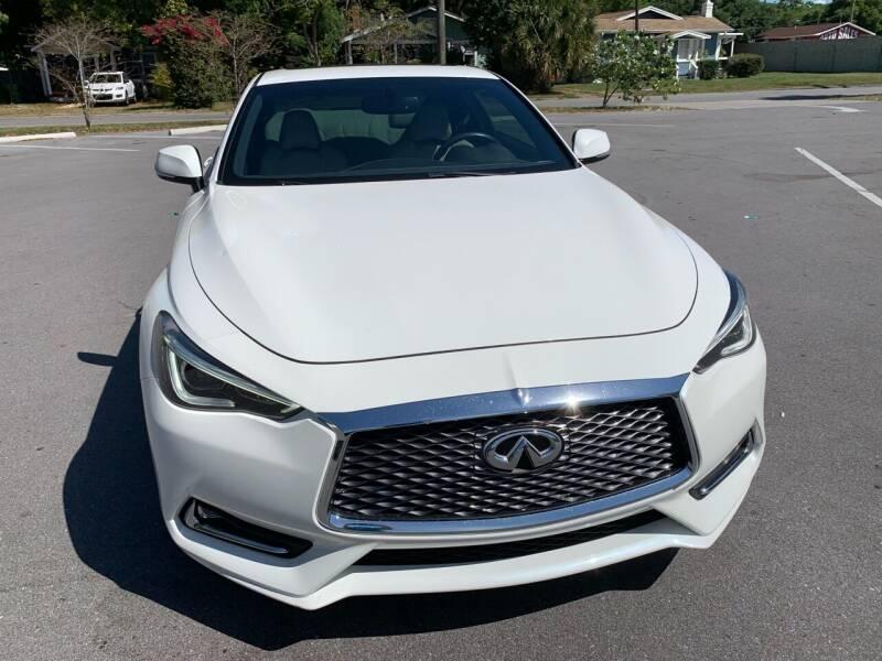2017 Infiniti Q60 for sale at Consumer Auto Credit in Tampa FL