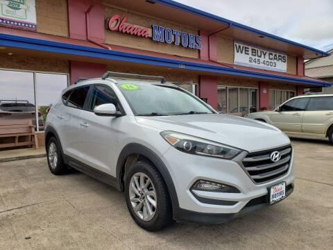 2016 Hyundai Tucson for sale at Ohana Motors in Lihue HI
