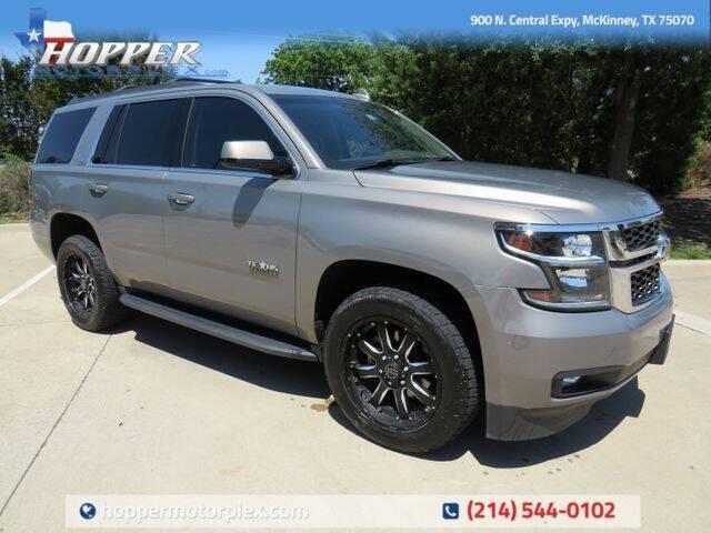 2018 Chevrolet Tahoe for sale in Mckinney, TX