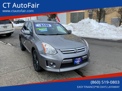 2011 Nissan Rogue for sale at CT AutoFair in West Hartford CT