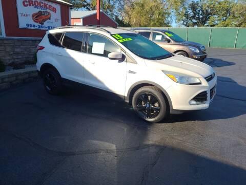 2013 Ford Escape for sale at Crocker Motors in Beloit WI