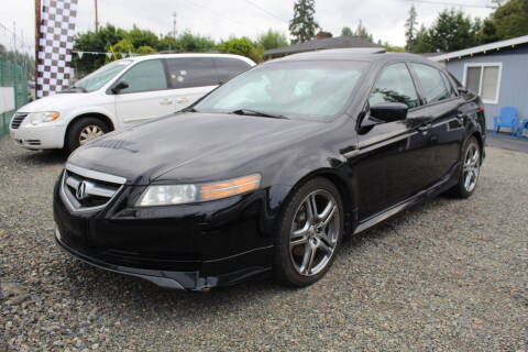 2005 Acura TL for sale at Summit Auto Sales in Puyallup WA