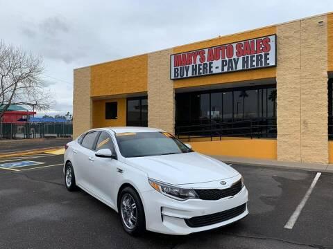 2017 Kia Optima for sale at Marys Auto Sales in Phoenix AZ