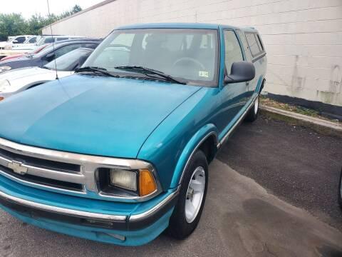 1996 Chevrolet S-10 for sale at M B & D AUTO in Virginia Beach VA