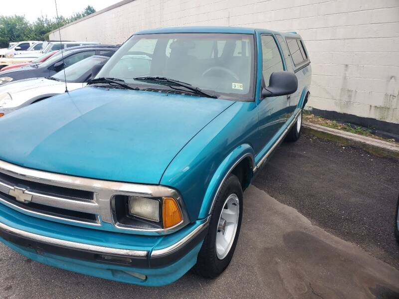 1996 Chevrolet S-10 for sale in Virginia Beach, VA