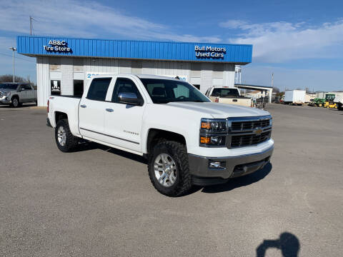 2014 Chevrolet Silverado 1500 for sale at BULL MOTOR COMPANY in Wynne AR