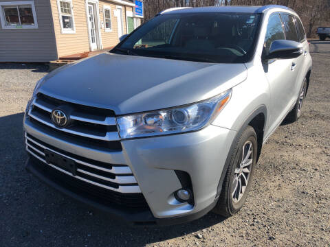 2018 Toyota Highlander for sale at AUTO OUTLET in Taunton MA