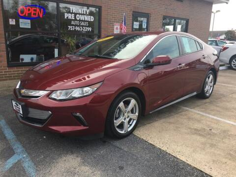 2017 Chevrolet Volt for sale at Bankruptcy Car Financing in Norfolk VA