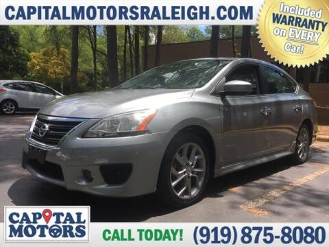 2013 Nissan Sentra for sale at Capital Motors in Raleigh NC