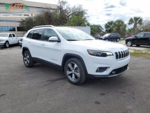 2021 Jeep Cherokee for sale at GATOR'S IMPORT SUPERSTORE in Melbourne FL