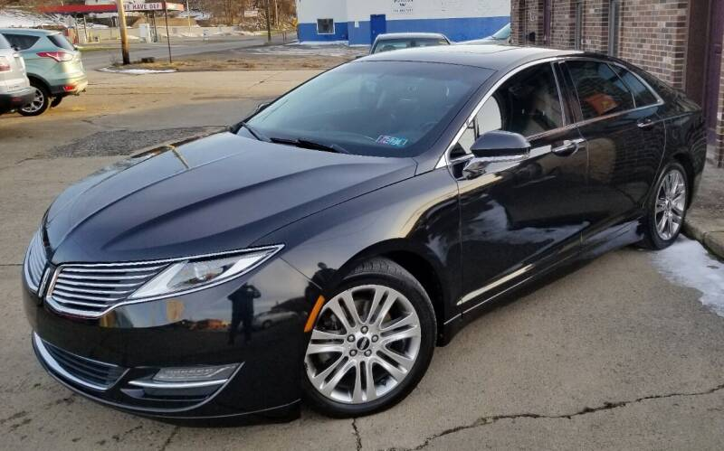 2013 Lincoln MKZ for sale at SUPERIOR MOTORSPORT INC. in New Castle PA