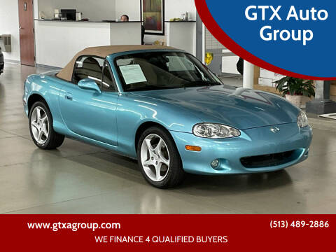 2001 Mazda MX-5 Miata for sale at GTX Auto Group in West Chester OH