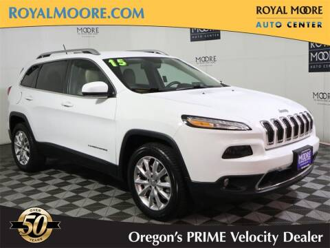 2015 Jeep Cherokee for sale at Royal Moore Custom Finance in Hillsboro OR
