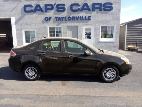 2010 Ford Focus for sale at Caps Cars Of Taylorville in Taylorville IL