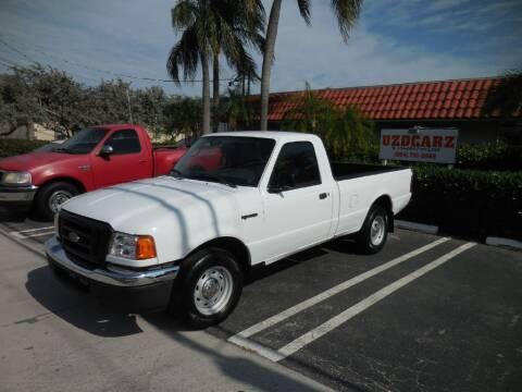 2005 Ford Ranger for sale at Uzdcarz Inc. in Pompano Beach FL
