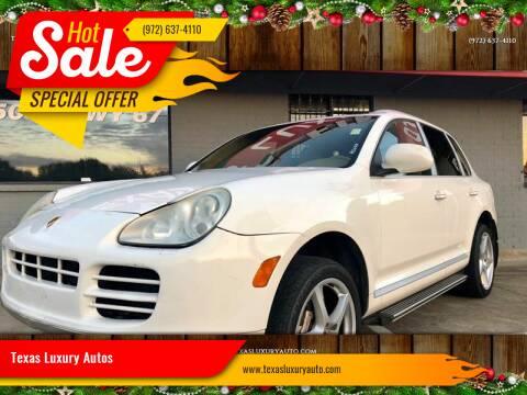 2006 Porsche Cayenne for sale at Texas Luxury Auto in Cedar Hill TX