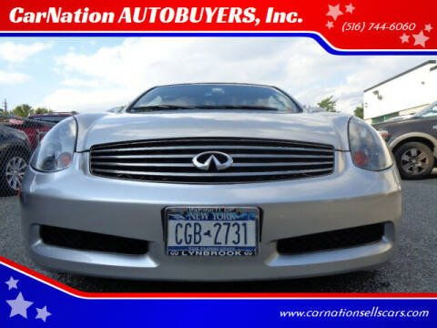 2004 Infiniti G35 for sale at CarNation AUTOBUYERS, Inc. in Rockville Centre NY
