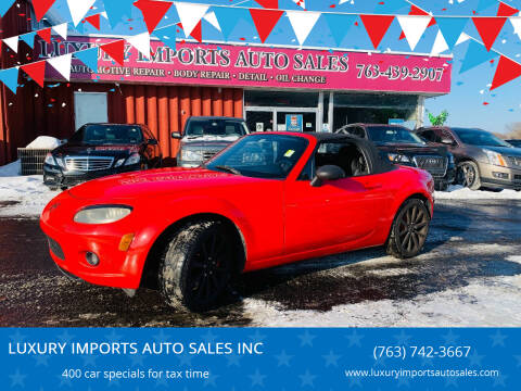 2006 Mazda MX-5 Miata for sale at LUXURY IMPORTS AUTO SALES INC in North Branch MN