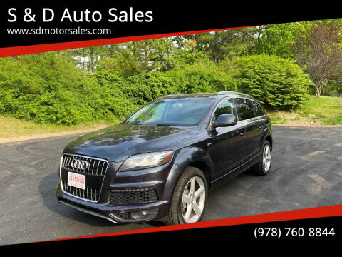 2011 Audi Q7 for sale at S & D Auto Sales in Maynard MA