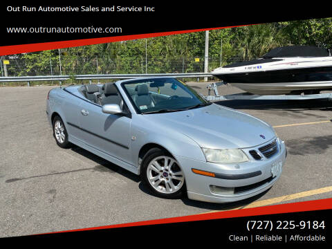 2006 Saab 9-3 for sale at Out Run Automotive Sales and Service Inc in Tampa FL
