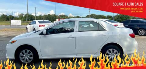 2012 Toyota Corolla for sale at Square 1 Auto Sales in Commerce GA