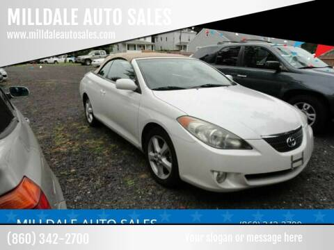 2006 Toyota Camry Solara for sale at MILLDALE AUTO SALES in Portland CT