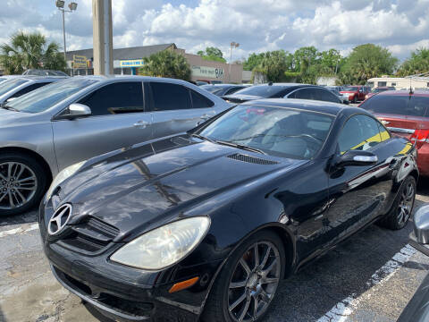 2008 Mercedes-Benz SLK for sale at Castle Used Cars in Jacksonville FL