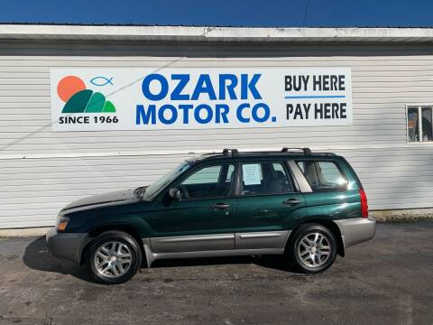 2005 Subaru Forester for sale at OZARK MOTOR CO in Springfield MO