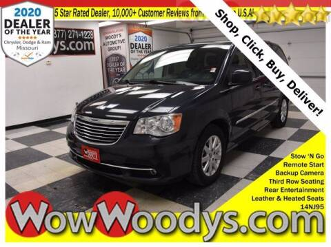 2014 Chrysler Town and Country for sale at WOODY'S AUTOMOTIVE GROUP in Chillicothe MO