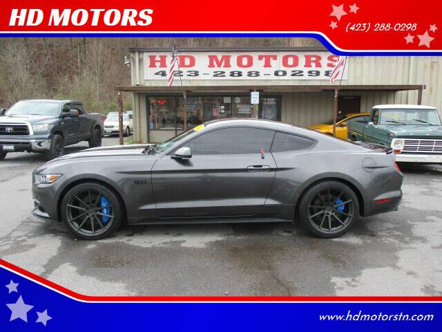 2016 Ford Mustang for sale at HD MOTORS in Kingsport TN