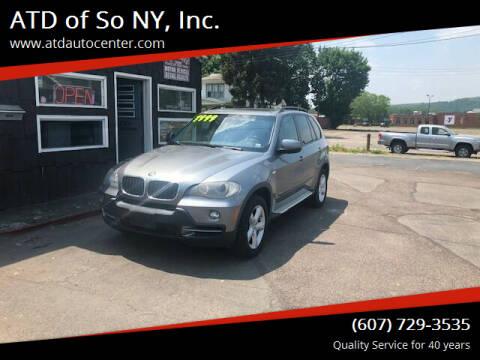 2008 BMW X5 for sale at ATD of So NY, Inc. in Johnson City NY