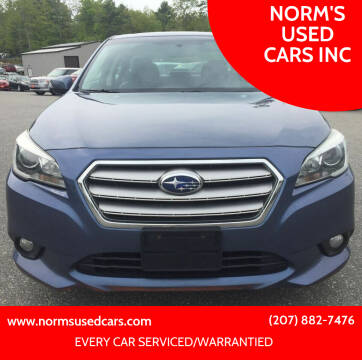 2015 Subaru Legacy for sale at NORM'S USED CARS INC in Wiscasset ME