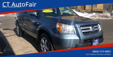 2007 Honda Pilot for sale at CT AutoFair in West Hartford CT