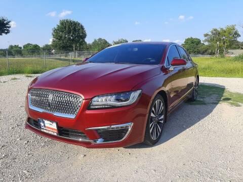 2017 Lincoln MKZ for sale at LA PULGA DE AUTOS in Dallas TX
