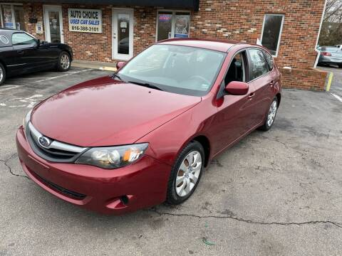 2011 Subaru Impreza for sale at Auto Choice in Belton MO