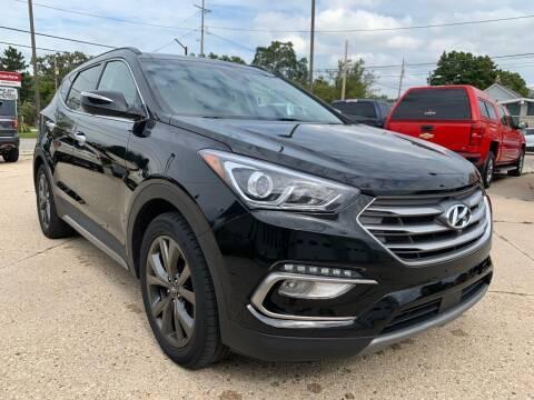 2018 Hyundai Santa Fe Sport for sale at Auto Gallery LLC in Burlington WI