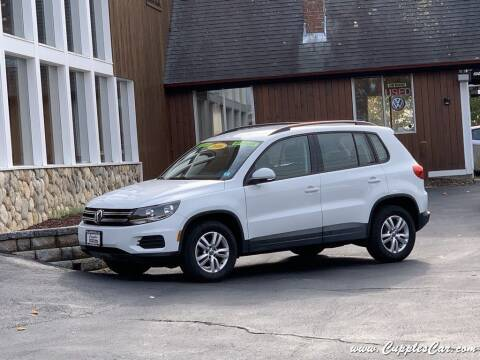 2016 Volkswagen Tiguan for sale at Cupples Car Company in Belmont NH