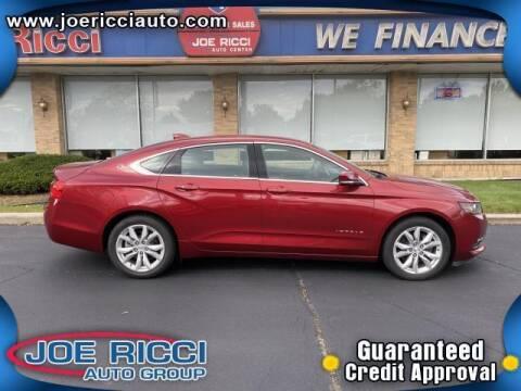 2018 Chevrolet Impala for sale at JOE RICCI AUTOMOTIVE in Clinton Township MI
