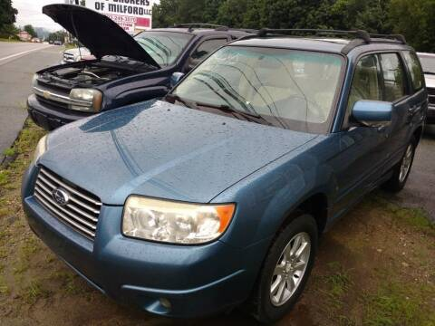 2008 Subaru Forester for sale at Auto Brokers of Milford in Milford NH